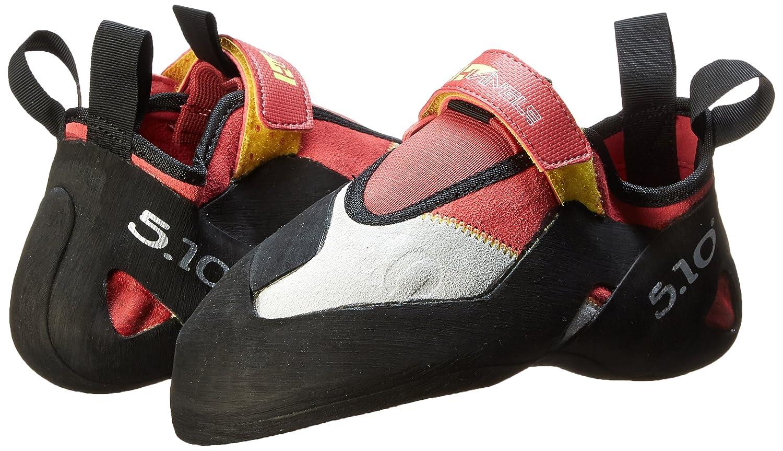 Five Shoe Ten Women's Hiangle Climbing Shoe Five B00IDNV97O 7.5 B(M) US|Pink/Yellow e71869