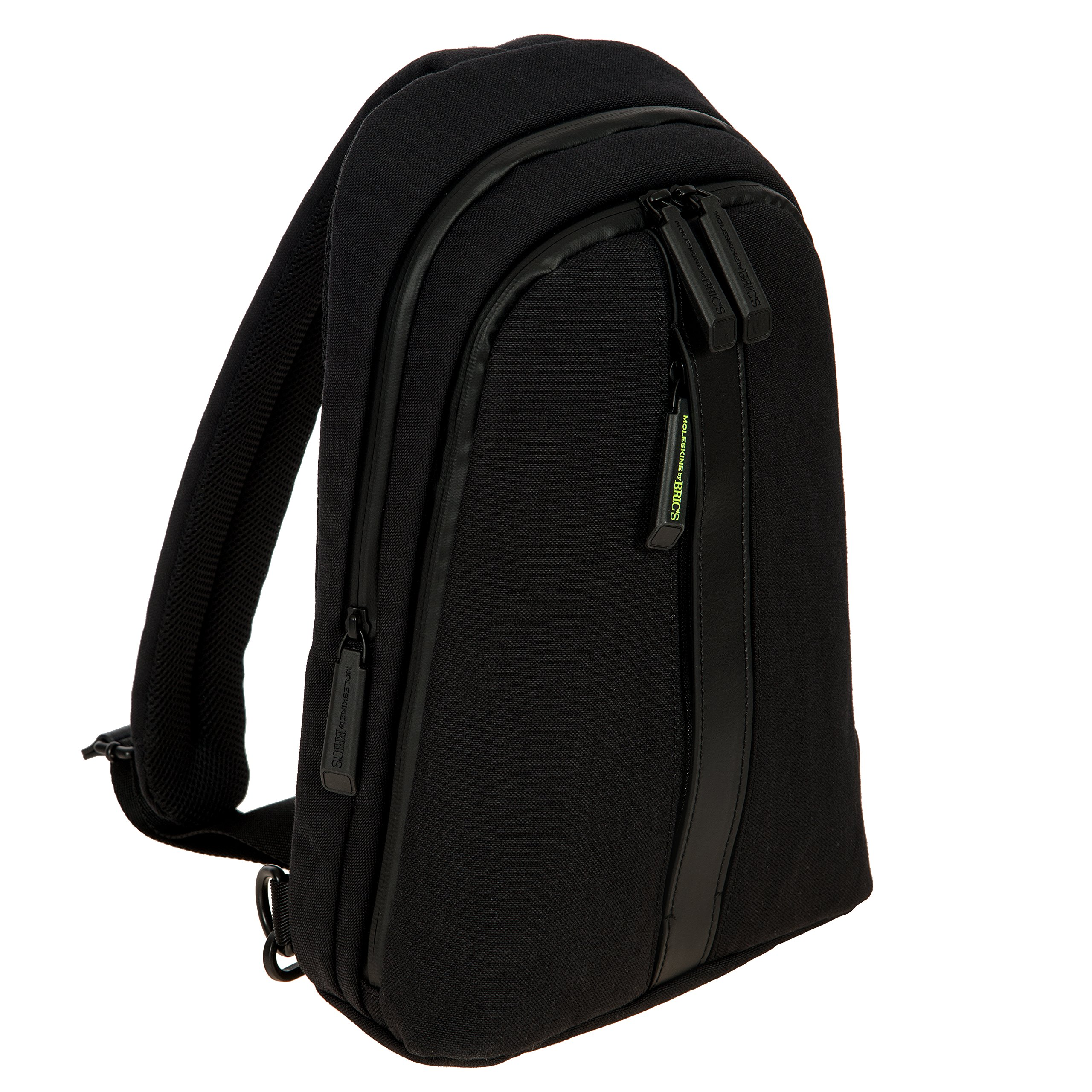 Bric's Men's Moleskine Bag Sling Backpack, Black, One Size by Bric's (Image #3)