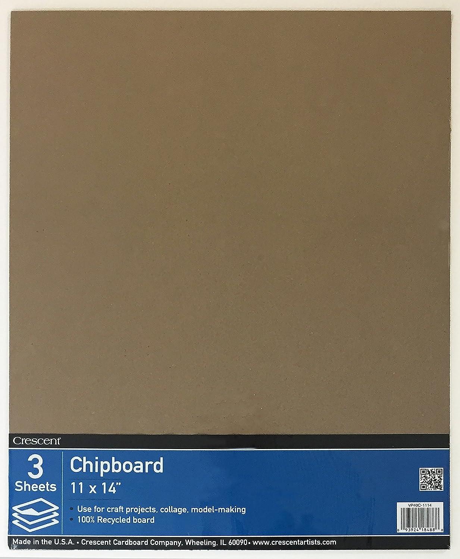 Crescent Hartpappe CO Recycling Spanplatte Value Pack -11-inch X 35, 6cm 6cm Crescent Cardboard Co VP40C-1114
