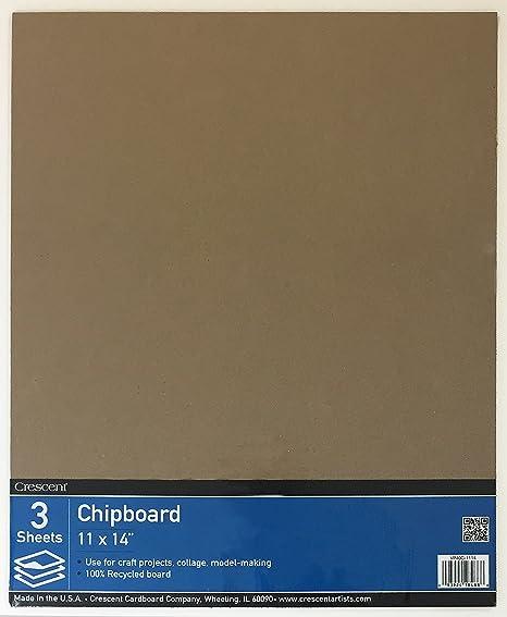 Crescent cartón Co Reciclado aglomerado Value Pack -11-Inch X 35,5 cm