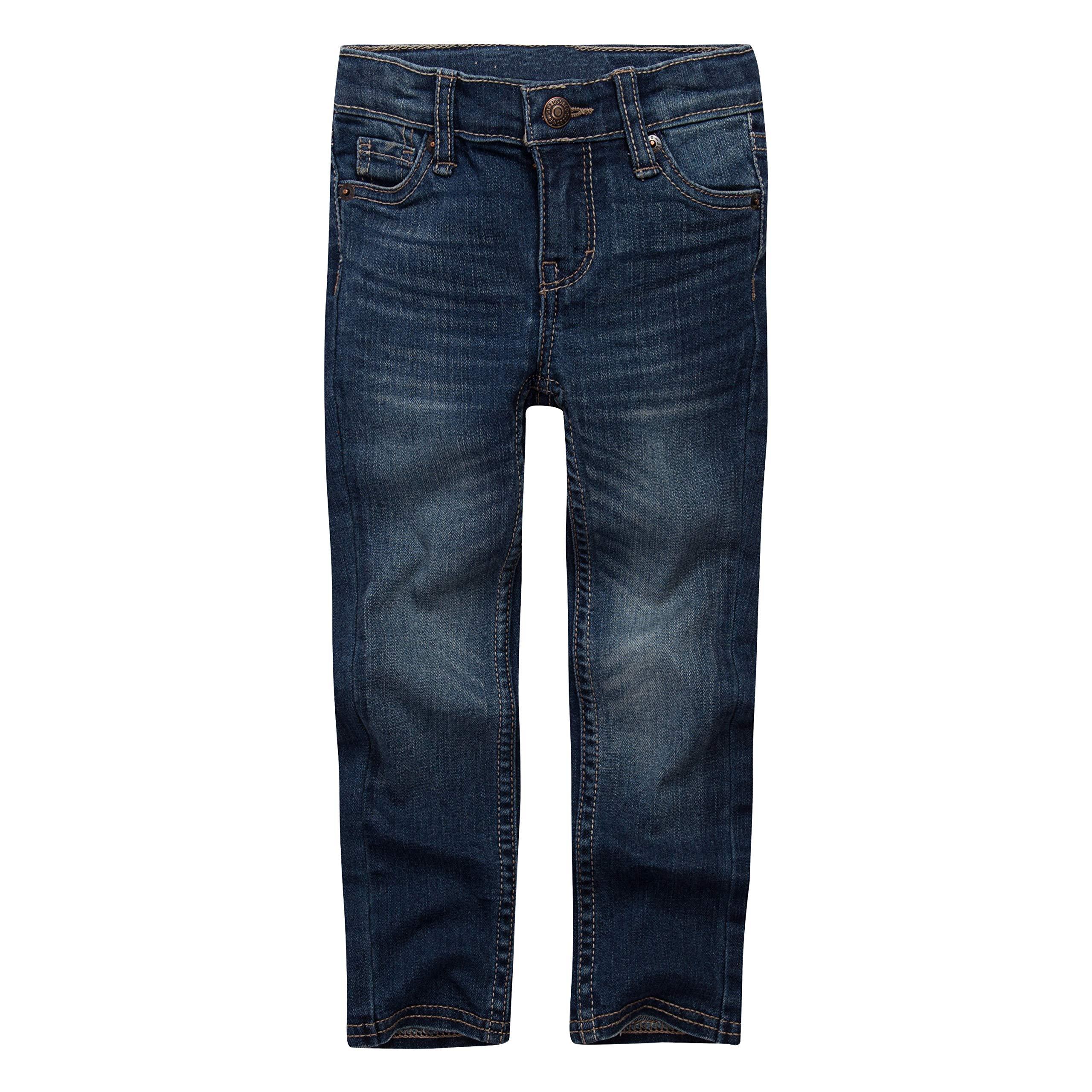 Levi's Girls' Big 711 Skinny Fit Jeans, Rockabilly, 16 by Levi's