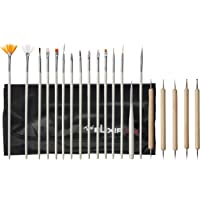 Elixir Beauty Nail Art Design Painting Dotting Pen Brushes Tool Kit Set, 0.4 libras