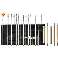 Elixir Beauty Nail Art Design Painting Dotting Pen Brushes Tool Kit Set, 0.4 Pound