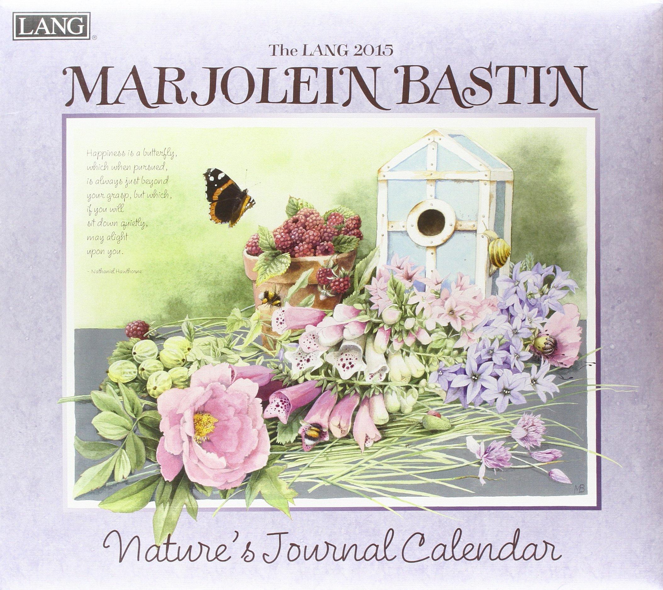 The lang marjolein bastin natures journal calendar marjolein the lang marjolein bastin natures journal calendar marjolein bastin 9780741246998 amazon books m4hsunfo