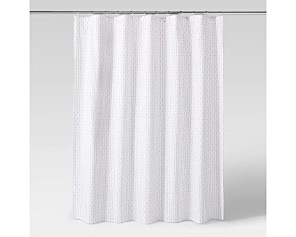 Amazon Project 62 Grid Dot Textured Shower Curtain Home Kitchen