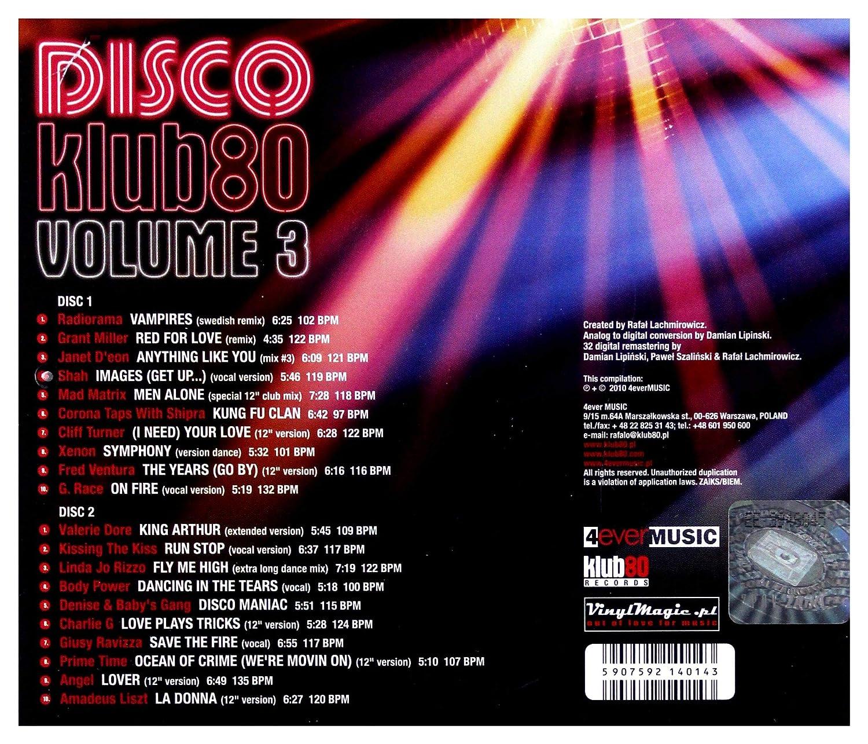 Amazon.com: Disco Klub.80 vol. 3 [CD]: Music