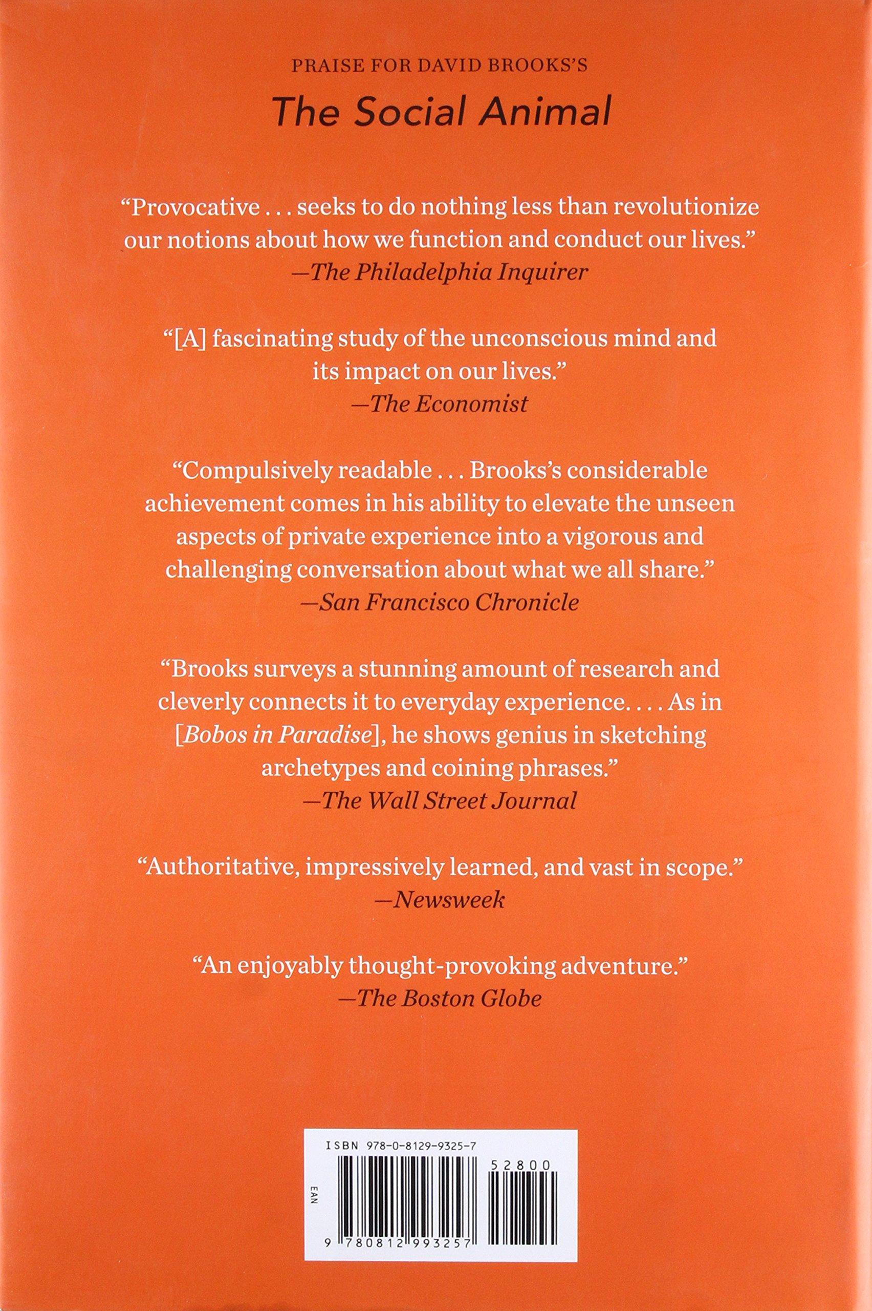 The Road To Character David Brooks 9780812993257 Amazon Com Books