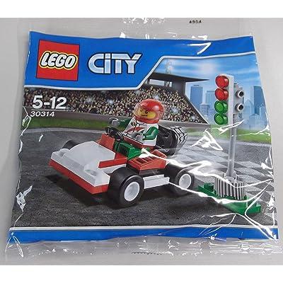 LEGO City Go-Kart Racer Mini Set #30314 [Bagged]: Toys & Games