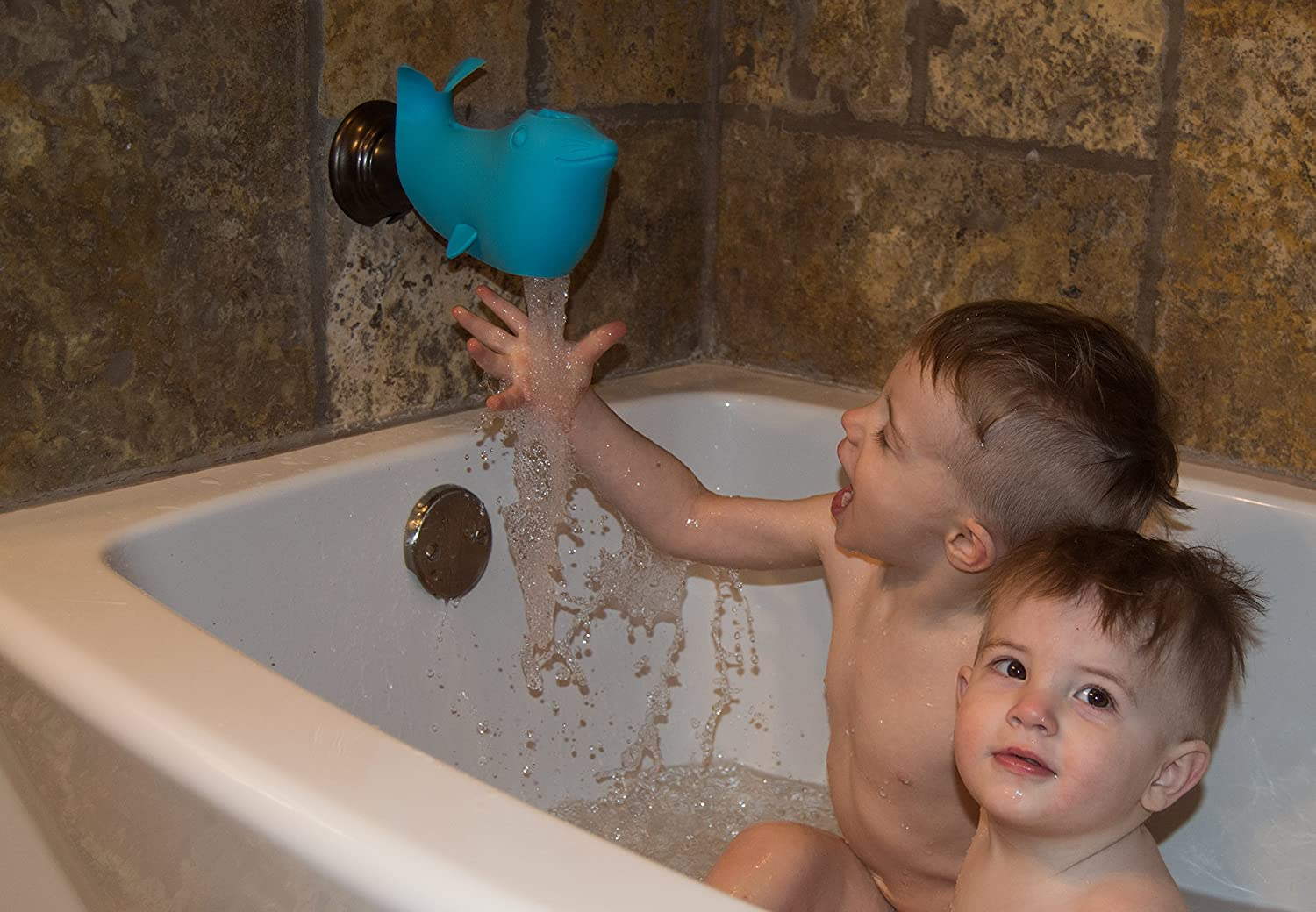 Amazon.com: Tiddler Bath Spout Cover (Blue): Health & Personal Care