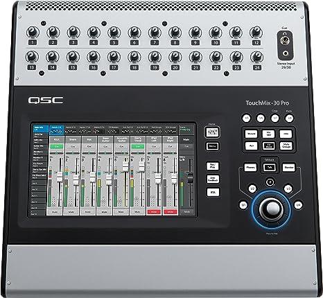 QSC TouchMix-30 Pro · Mesa de mezclas digital: Amazon.es ...