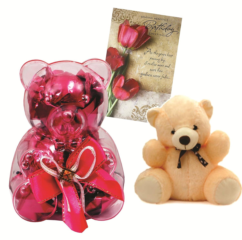 Skylofts Teddy Bear Chocolate Gift Pack With A Teddy Bear And
