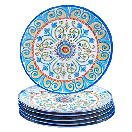 Certified International Corp Tuscany Dinner Plate 11u0026quot; Multicolored ...  sc 1 st  Amazon.com & Amazon.com | Certified International Corp Tuscany Dinner Plate 11 ...
