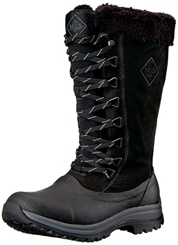 good quality shopping special section Muck Boots Arctic Après Tall Rubber & Leather Lace-Up Women's Winter Boot