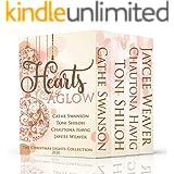 Hearts Aglow: Four Christmas Novella Romances (The Christmas Lights Collection Book 5)
