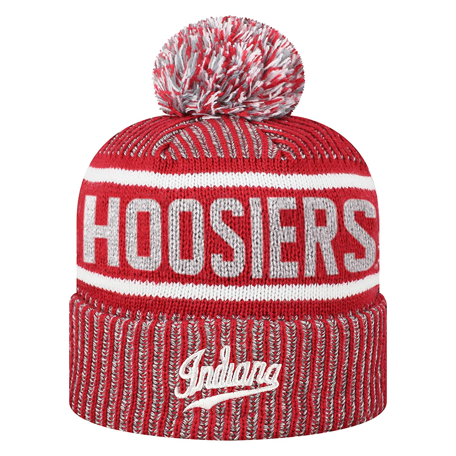 229a56544928e6 Amazon.com : Top of the World NCAA Glacier Cuffed Knit Beanie Pom Hat-Auburn  Tigers : Sports & Outdoors