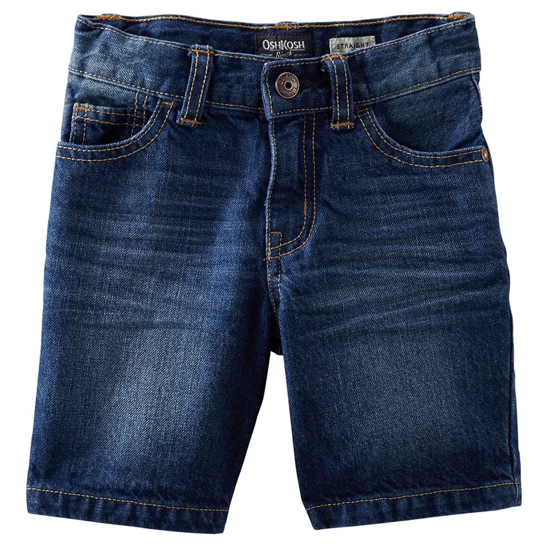 Rolled Hems 5 OshKosh Boys Dark Denim Shorts Denim