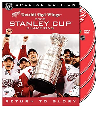 Amazon com: NHL: Stanley Cup 2008 Champions - Detroit Red