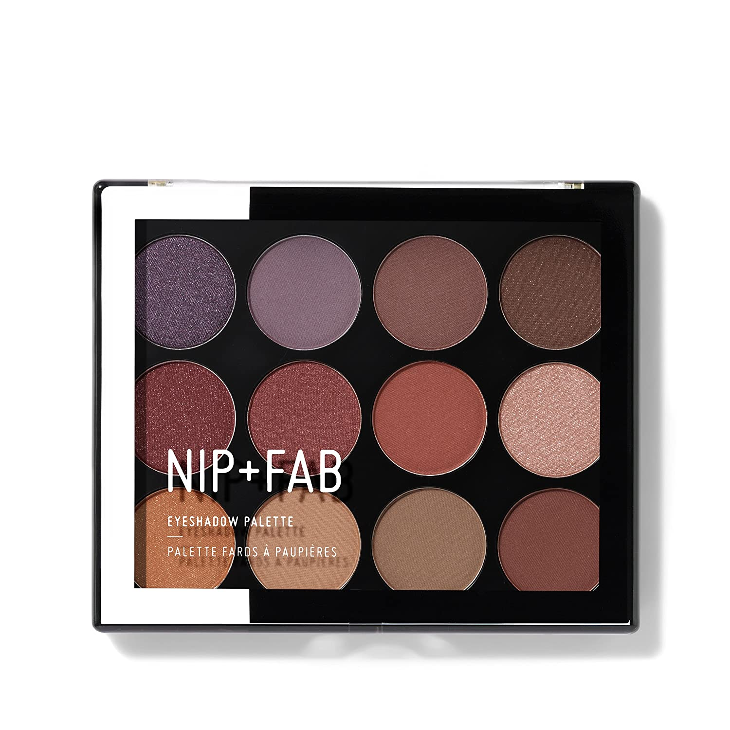 NIP+FAB Eyeshadow Palette, Sculpted Nip+Fab Ltd MUEYSPL112
