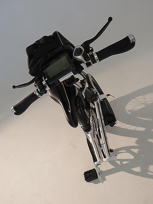 Go-Go bicicletas eléctricas, bicicletas eléctricas | ciudad Sprinter - plegable híbrida para bicicleta con marco de acero de alto carbono, shimano y Digital ...