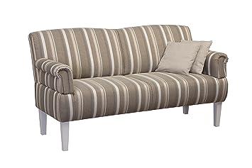 CAVADORE 3 Sitzer Sofa Pasle Mit Federkern Für Küche, Esszimmer/Küchensofa,  Essbank