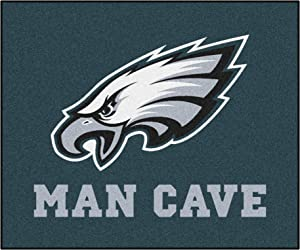 FANMATS 14355 NFL Philadelphia Eagles Nylon Universal Man Cave Tailgater Rug