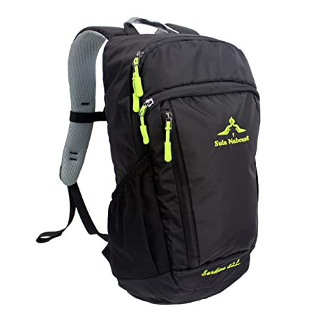 2482dcc2436e Amazon.com  Small Travel Backpack Hiking Daypack 22L - Laptop ...