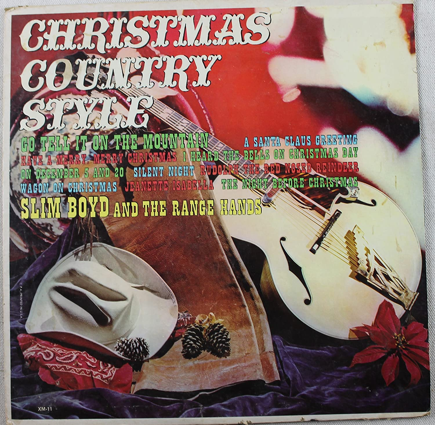 slim boyd the rangehands christmas country style amazoncom music - Xm Country Christmas