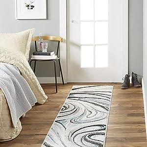 "Home Dynamix Odette Modern Area Rug, Boho (1'6"" x 7'2"" Runner)"
