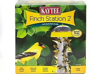 Kaytee Finch Feeder Yellow, 4 Socks