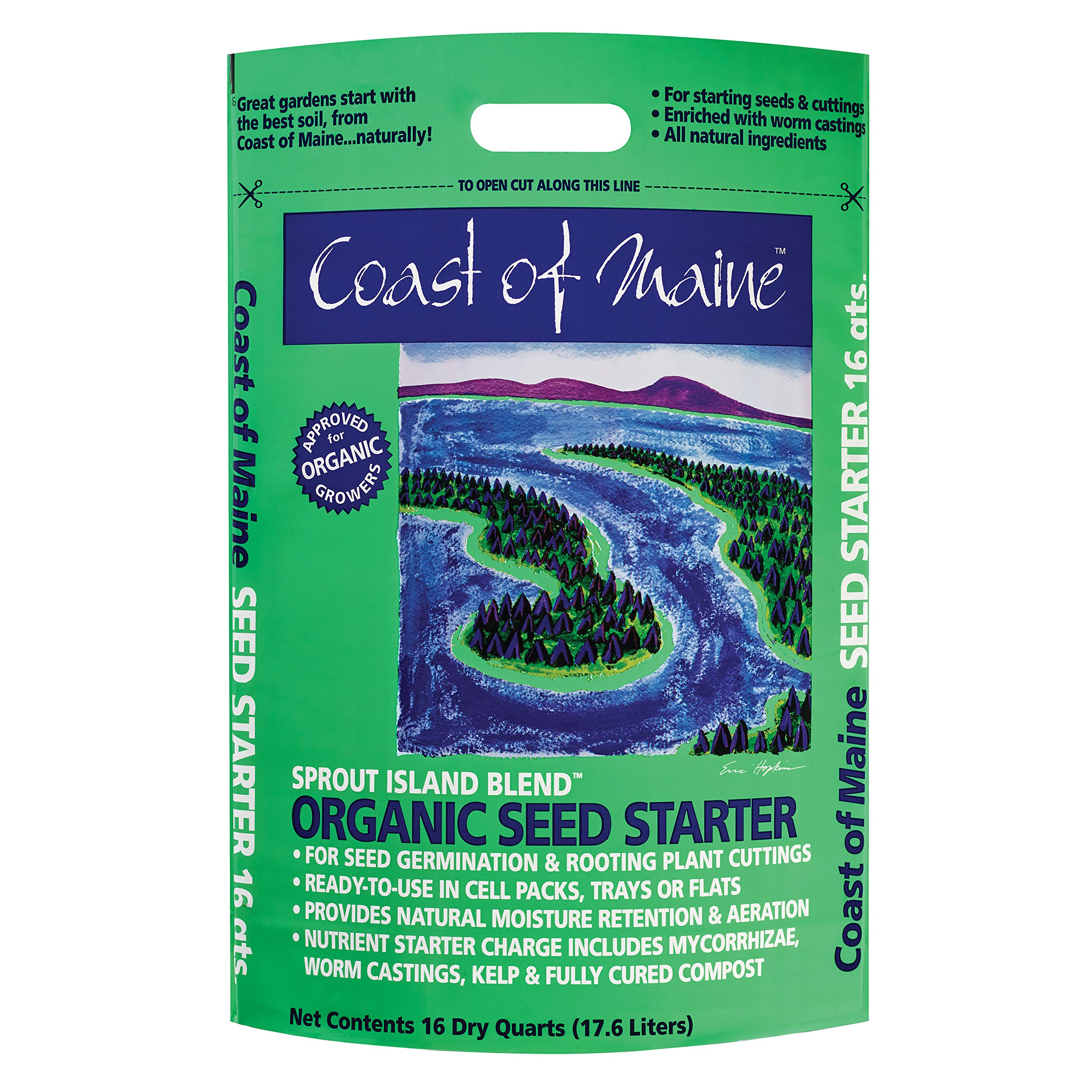 Coast of Maine - Organic Seed Starter - Sprout Island Blend by Coast of Maine