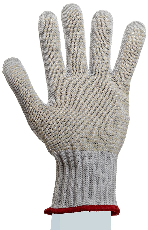 X-Large Left Hand Dotted Palm Grip Cut Resistant Pack of 1 Glove Showa Best 917C D//Flex HPPE Yarn Fiber Glove 7 Gauge Seamless Knit Showa Best Glove Inc 917C-10LH