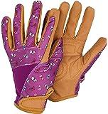Briers Profession'elle' Gloves, Purple Butterfly, Medium