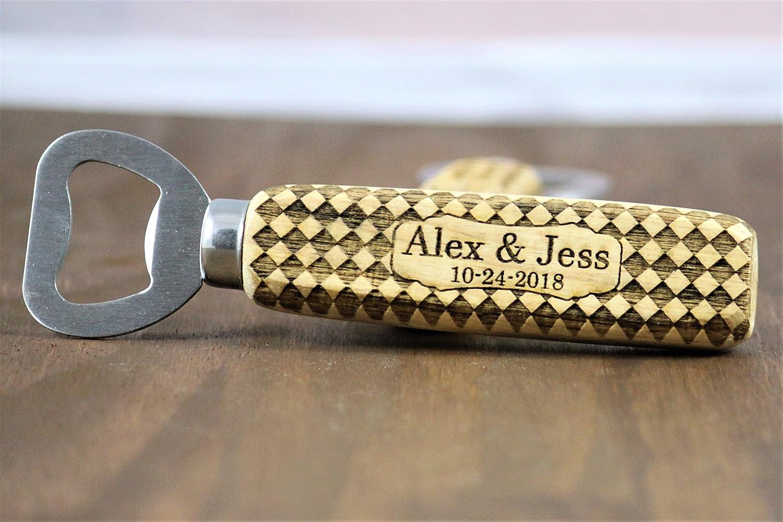 Amazon Com Bottle Opener Wedding Favors 50 Pcs Personalized