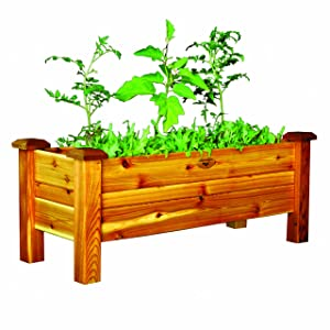 Gronomics PB 18-48S Planter Box, 18-Inch by 48-Inch by 19-Inch, Unfinished