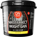 Deluxe Mass Effect Hi Calorie Weight Gainer 4kg Banana Whey Protein Casein Glutamine