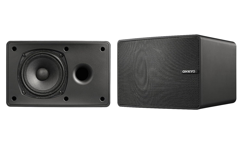 ONKYO D-PS100 スピーカーシステム(2台1組) ブラック D-PS100(B) 【国内正規品】 B071JDV9PM