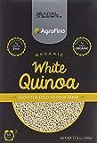 كينوا بيضاء عضوية خالية من الغلوتين من اجروفينو، 500 غرام (بيج)