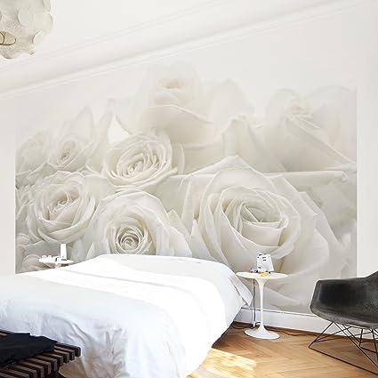 Carta da parati in tessuto non tessuto, immagine da parete, rose ...