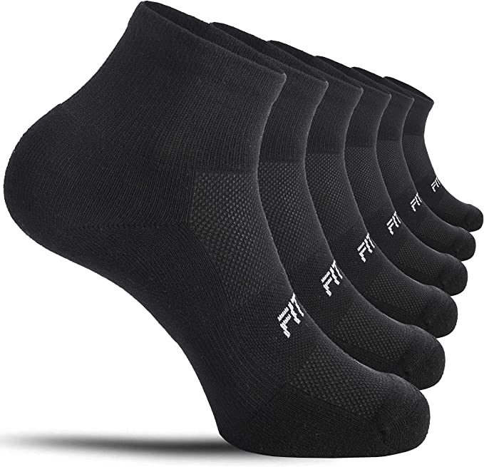 10 Pack Mens//Womens Cotton Casual Sports Warm Breathable Running Socks Football