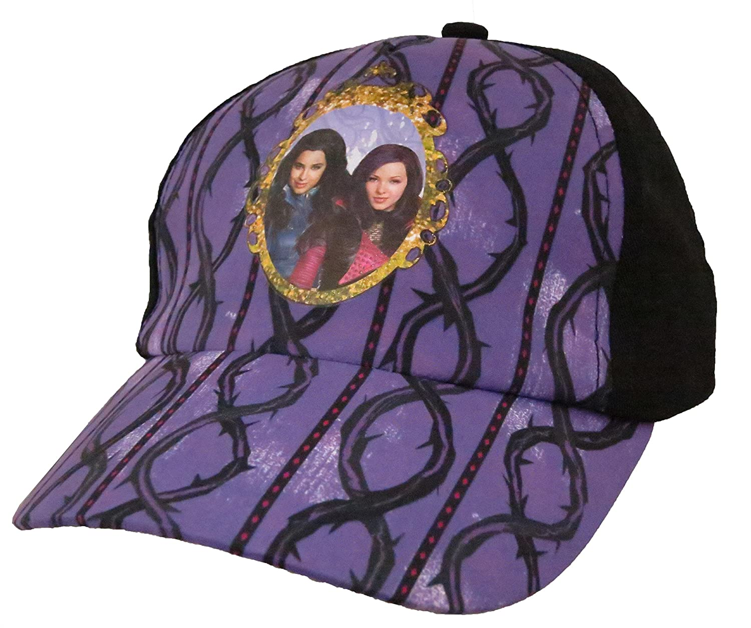 Amazon.com  Disney Descendants Girls Purple Baseball Cap  6012   Clothing 12b46221cc74