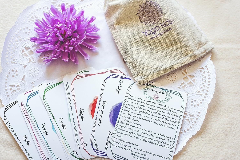 Emotion Cards. Juego Cartas Emociones y Colores