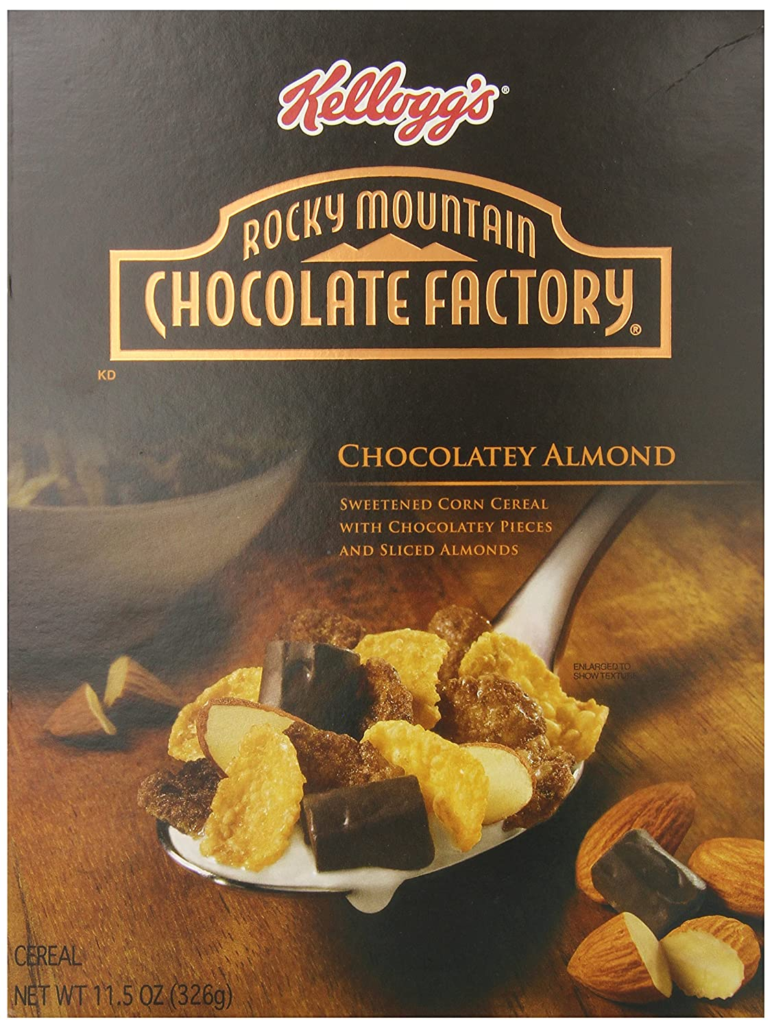 Amazon.com: Kellogg's Rocky Mountain Factory Cereal, Chocolate ...