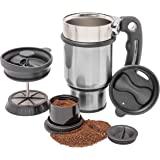 Planetary Designs Stainless Double Walled French Coffee Press Travel Mug