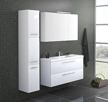 Bad Möbel Set POCO 120-1, bestehende von Waschbeckenunterschrank mit ...