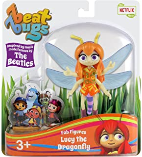 Beat Bugs Fab Figures Lucy The Dragonfly Action Figure