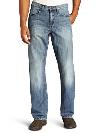 a8ca44fc LEE Men's Dungarees Loose Straight Leg Jean at Amazon Men's Clothing store: