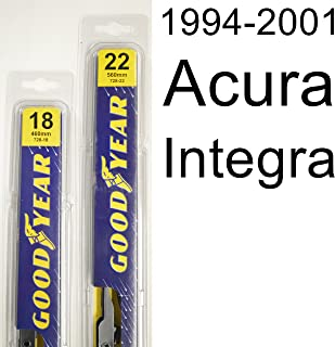 """product image for Acura Integra (1994-2001) Wiper Blade Kit - Set Includes 22"""" (Driver Side), 18"""" (Passenger Side) (2 Blades Total)"""