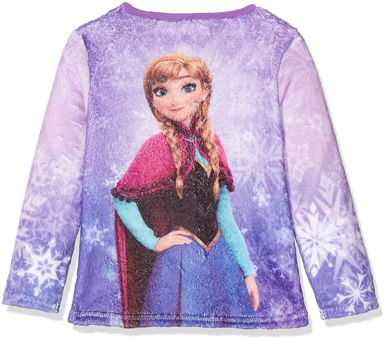 Disney Frozen M/ädchen Die Eisk/önigin Bademantel Morgenmantel mit Kapuze