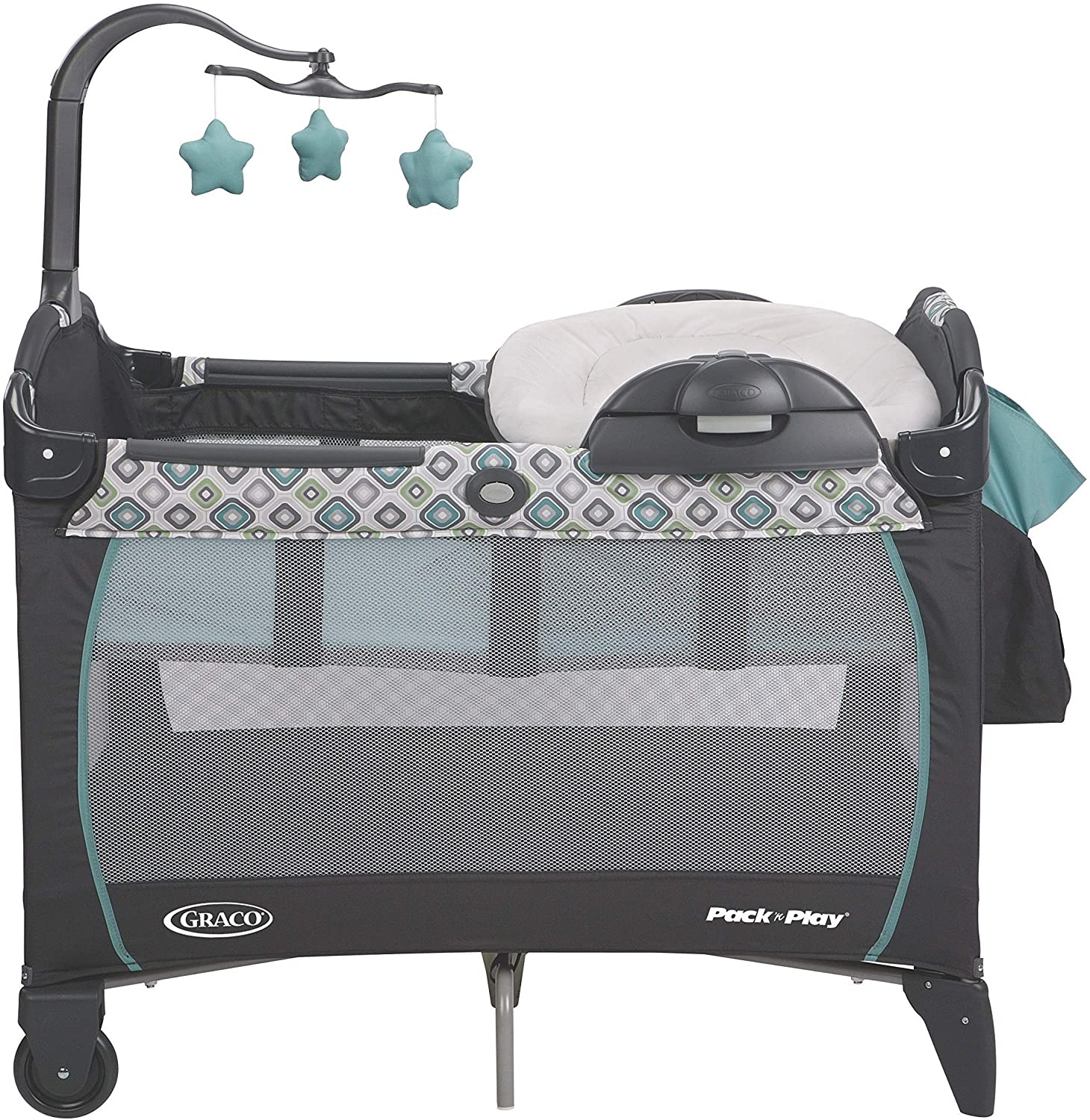 Graco Pack N Play Playard Portable Napper and Changer, Affinia by ...