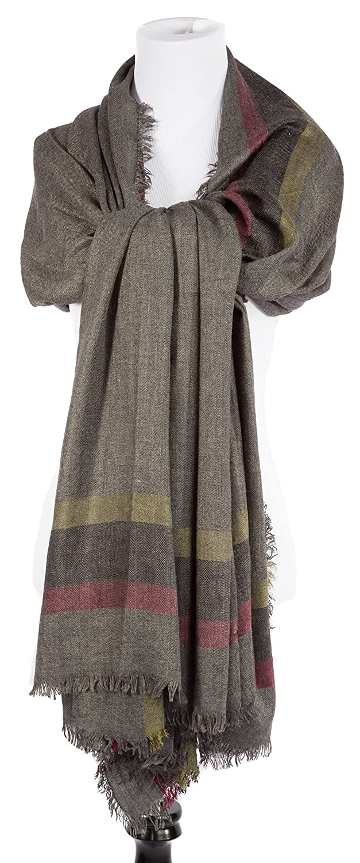 Portola Plaid Blanket Size Wrap and Scarf Shawl